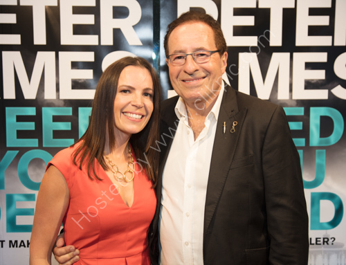 Peter and Lara James