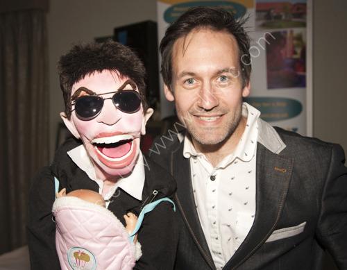 ventriloquist Steve Hewlett