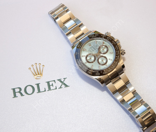 Parkhouse and Rolex at Lainston House Hotel