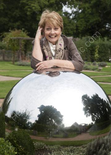 Anne Diamond at Chestnut Tree House