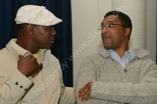 Chris Eubank and Michael Watson