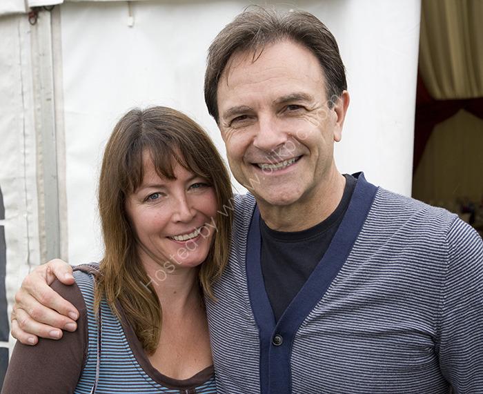 Jacqueline and Brian Capron