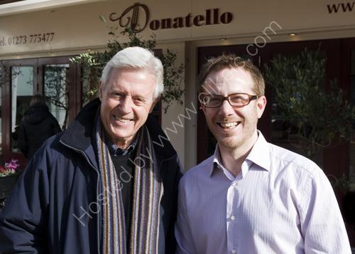 Michael Aspel at Donatello