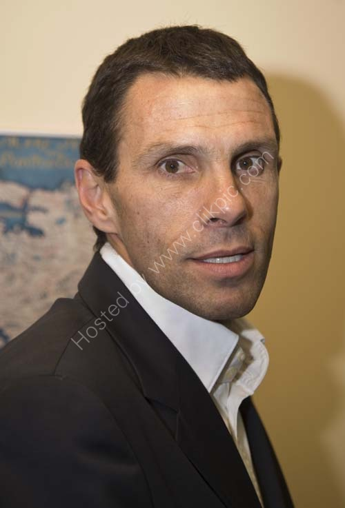 Brighton and Hove Albion manager, Gus Poyet