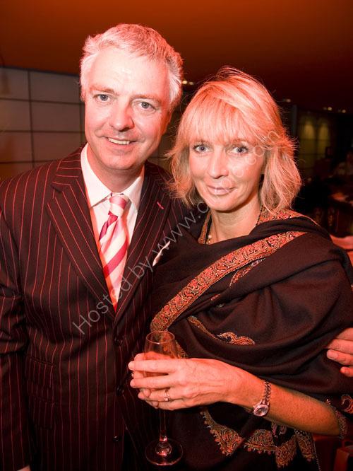 Simon Kirby MP and wife Elizabeth