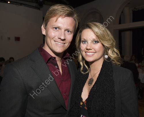 TV celebrity vet Dr. Scott Miller with his wife Zoe