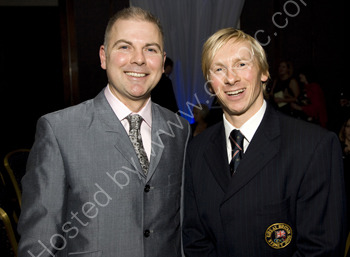 Radio Sussex Danny Pike and Commonwealth Games Gold medal winning gymnast Craig Heap