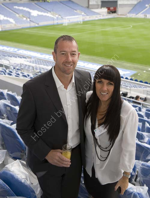 Footballer Paul and Annette Jones