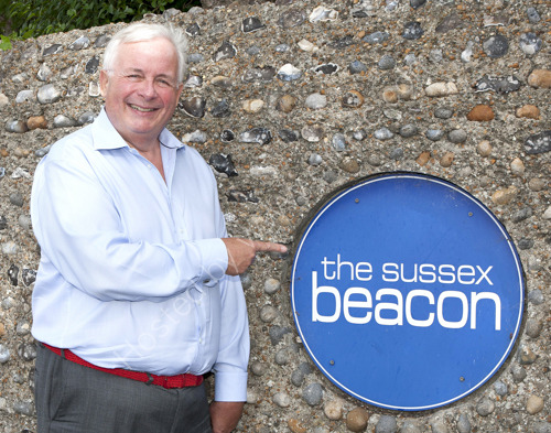 Christopher Biggins at Sussex Beacon