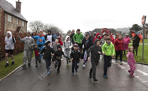 Graffham Fun Run for Cumbria Flood Victims