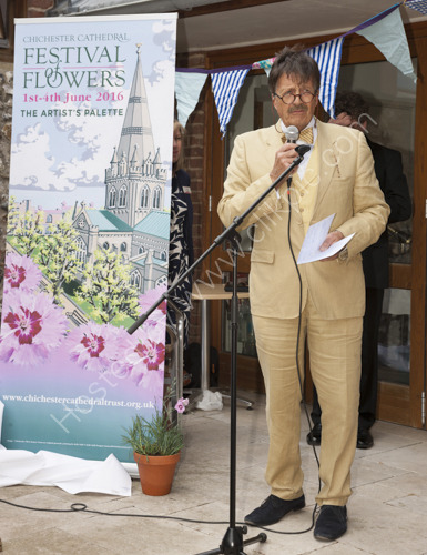 Chichester Festival of Flowers Launch 2015