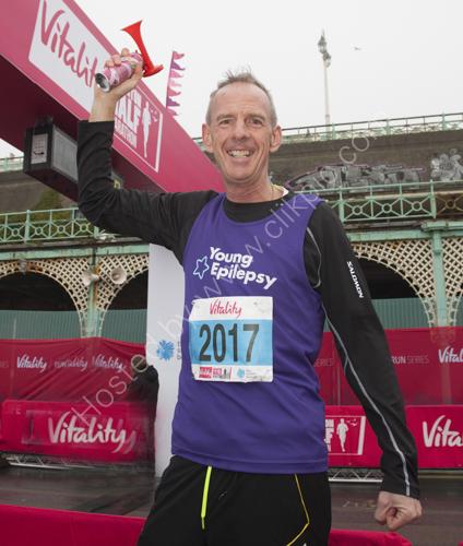 Norman Cook starts Brighton Half Marathon 2017