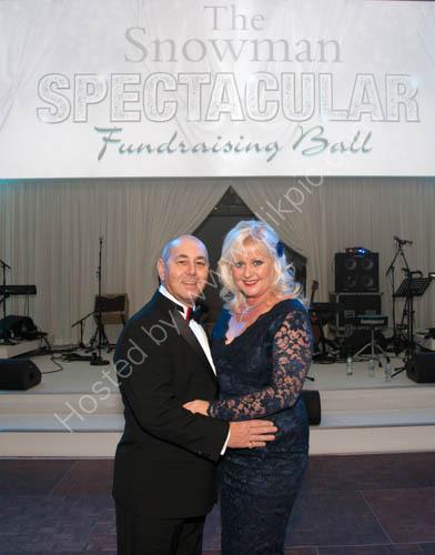 Snowman Ball Spectacular Robbie and Debbie Ragio