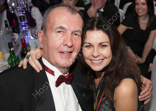 Mike Holland and Julie Graham