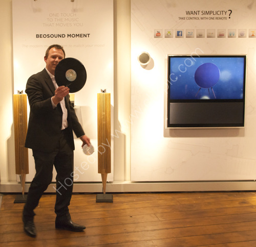 Mike Sparks of Bang and Olufsen Hove