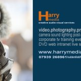 Flyer for Harry Media