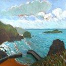 Mullion Cove turquoise sea
