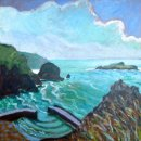 Mullion Cove with Cloud