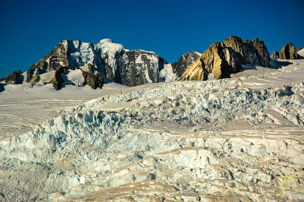 Glacier Helicopter Tour, Franz Josef Glacier, Southern Alps.