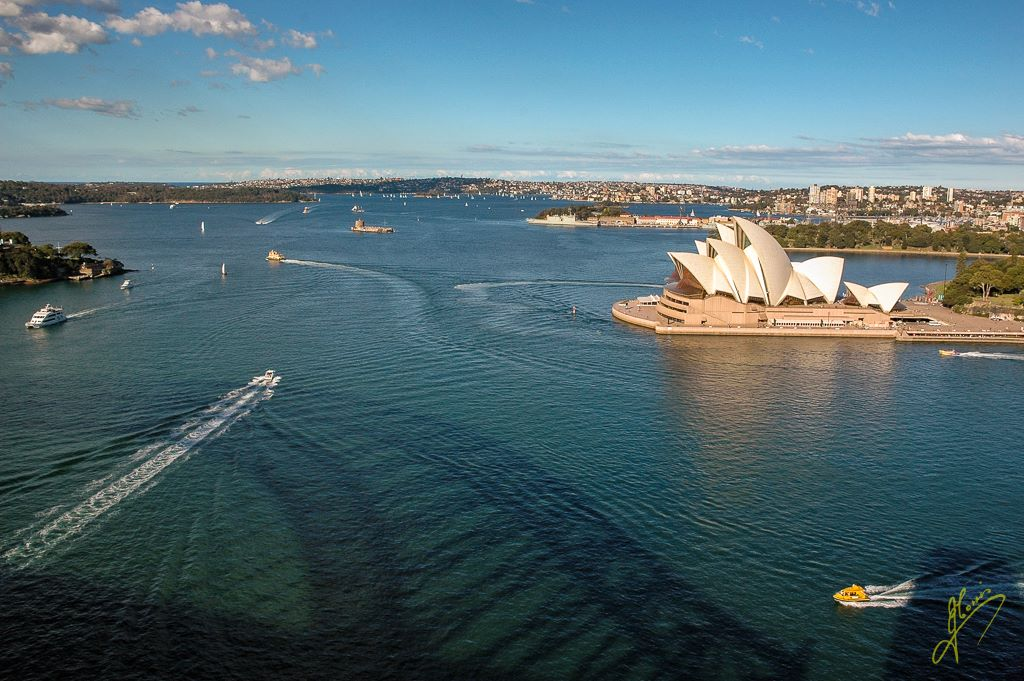 Sydney Harbour View from