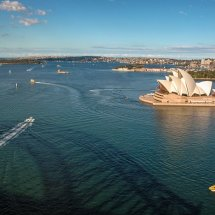 "Sydney Harbour View from ""Pylon"",  New South Wales."