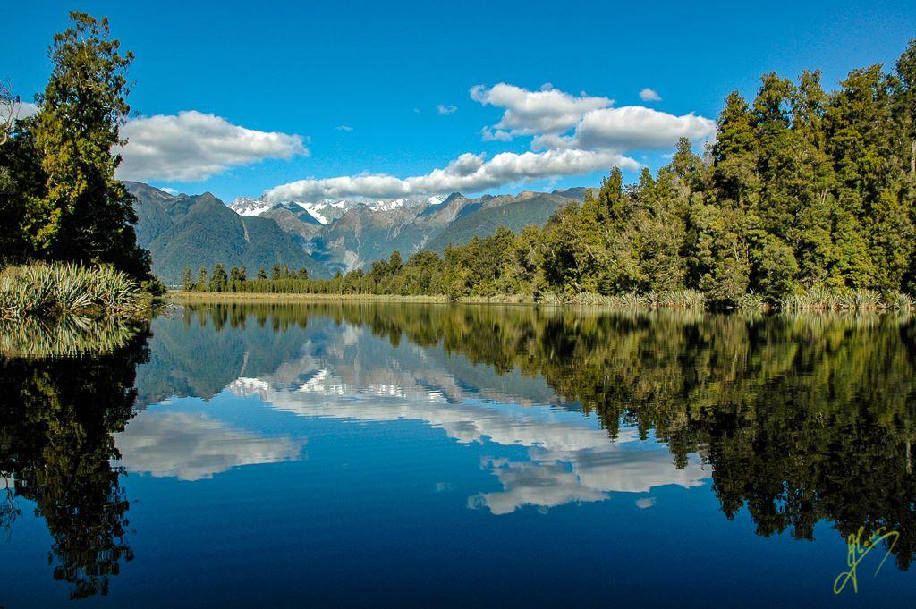 Lake Matherson, Southern Alps.