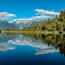 Lake Matherson, Southern Alps.