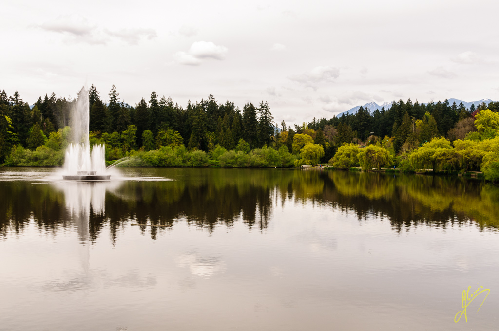 Lost Lagoon, Vancouver, British Columbia.