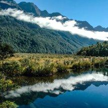 Mirror Lakes, Fiordland.