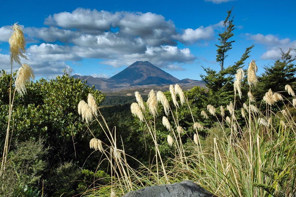 Mount Ngauruhoe, Tongariro National Park.