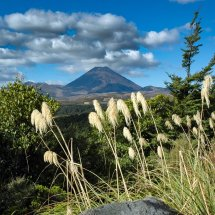 Mount Ngauruhoe, Tongariro National Park.