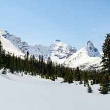 Parker Ridge and Mount Hilda, Banff National Park, Alberta.