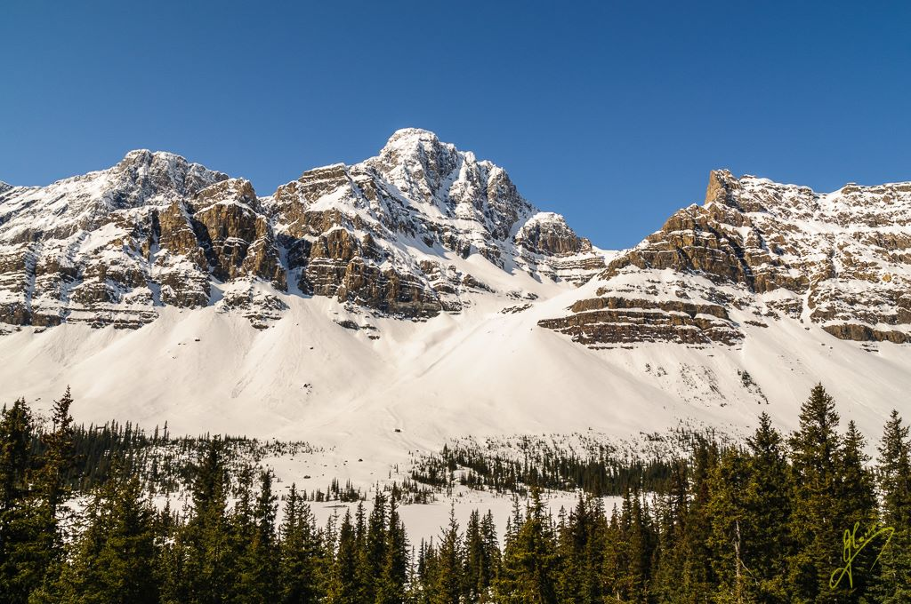 Pilot Peak, Banff National Park, Alberta.