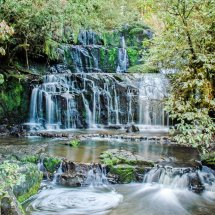 Purakakauniu Falls, The Catlins.