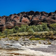Purnululu National Park (The Bungle Bungles), Western Australia.