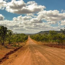 "The Road to the ""Tip"", Cape York, Queensland."