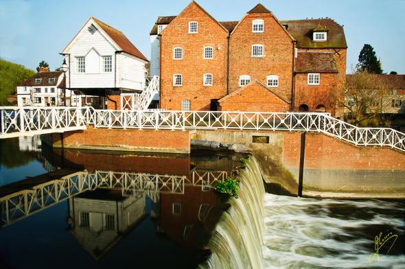 Abbey Mill and Weir.