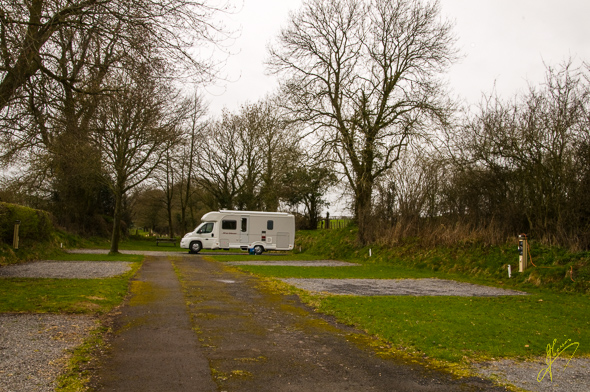 Aberbran Caravan Club Site.