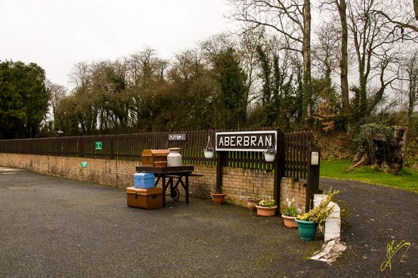 Aberbran Caravan Club Site old Station.
