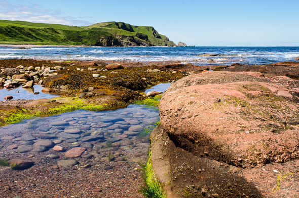 Aberdour Bay.
