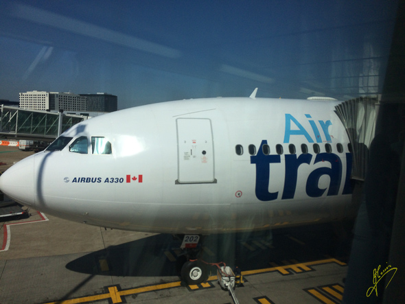 Air Transat Flight 843.