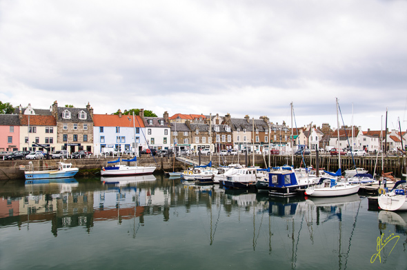Anstruther Harbour.