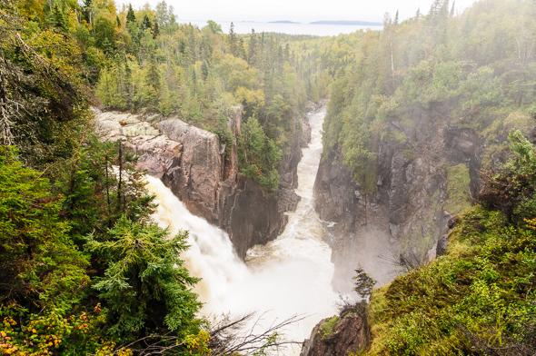 Aquasabon Falls.