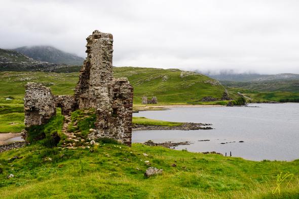 Ardvreck Castle.