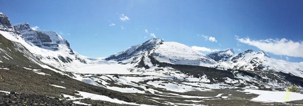 Athabasca Glacier Panorama.