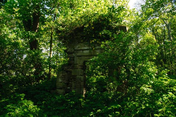 Auldhame Castle.
