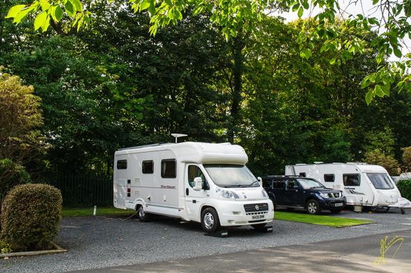 Ayr Craigie Gardens Caravan Club Site.