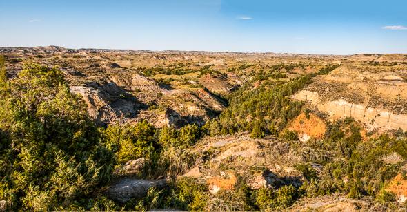 Badlands Overlook Panorama.