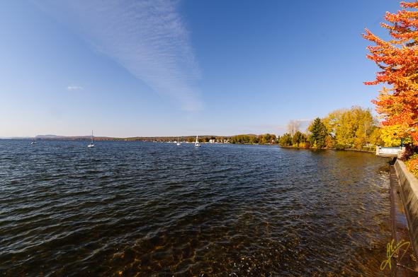 Baie de Magog, Lake Memphremagog.