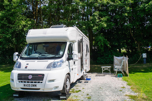 Bakewell Camping  and Caravan Club Site.